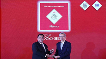 Baan Khanitha Restaurant Received the Thaiselect brand in 2018
